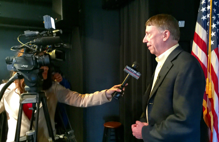 Babinec for Congress | Martin Interviewed at Campaign Kickoff Event