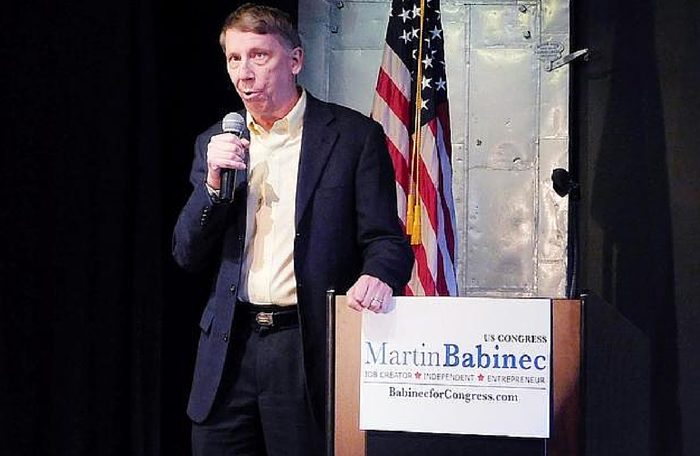 Times Telegram | Martin Babinec for Congress Kickoff Event