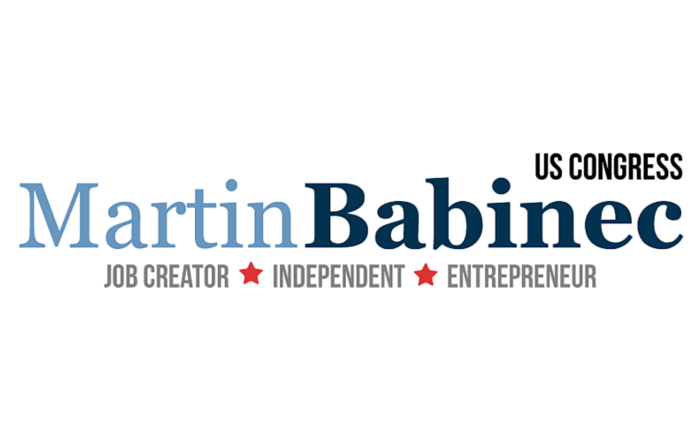 Logo | Martin Babinec for Congress | Job Creator, Independent & Entrepreneur