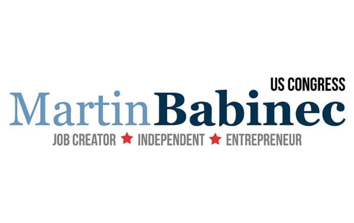 Logo | Martin Babinec for Congress | Job Creator, Independent & Entrepreneur