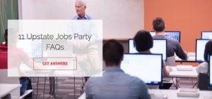 Upstate Jobs Party FAQS