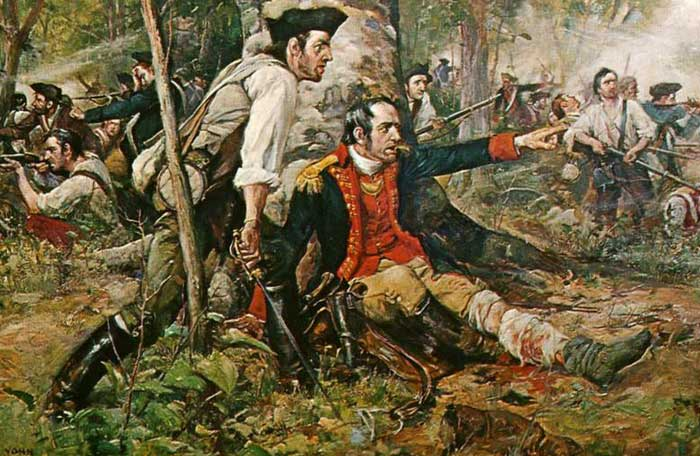 Battle of Oriskany - American Dream of Freedom