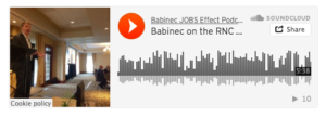 Babinec JOBS Effect Podcast: Democratic and Republican National Conventions