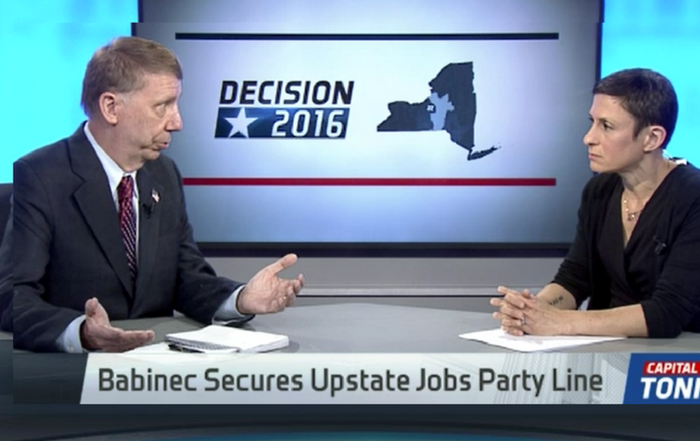 TWCNews: Babinec Creates Upstate Jobs Party Line