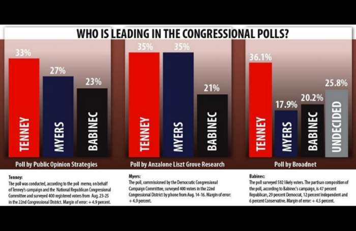 Who's leading in the Congressional polls?