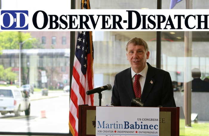 Utica OD: Martin Babinec will Caucus with Republicans