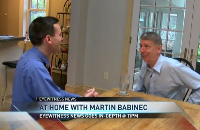 WUTR: At Home with Martin Babinec