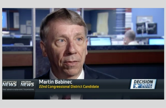 TWC News: Babinec Files Lawsuit After Party Line Left Off Ballot