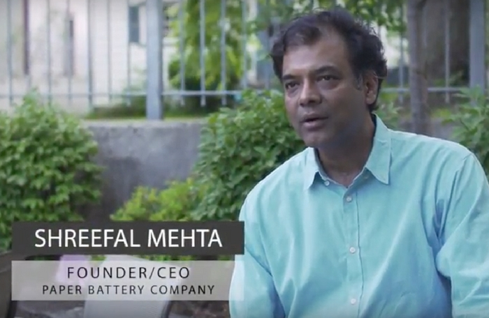 Video Testimonial: CEO, Paper Battery Company